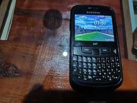 Vendo Samsung gt s 3350 libre