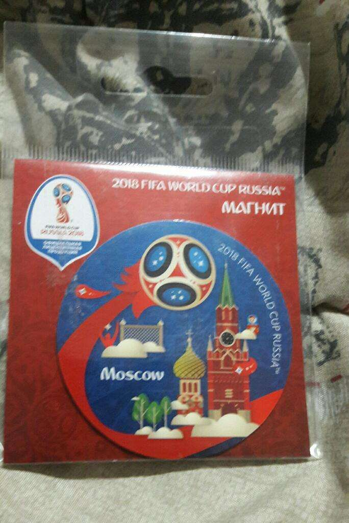Iman Sourvenir Copa Mundo Rusia 2018