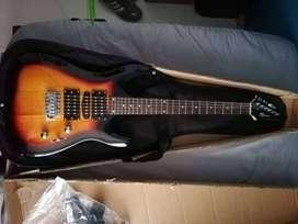 Guitarra nueva nunca se a utilizado+ amplificador