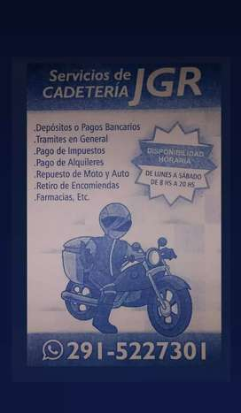 Servicios Cadeteria JGR