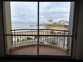 2 ambientes frente al mar con cochera vista panoramica