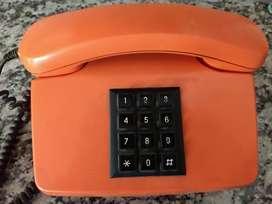 Teléfono antiguo Entel naranja nuevo