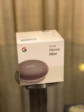 Google Home Mini nuevo sellado de Ripley