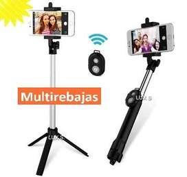 Tripode Selfie Bluetooth  Baston