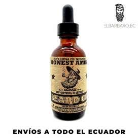 Aceite De Barba Natural Orgánico Honest Amish 60 ml Americano