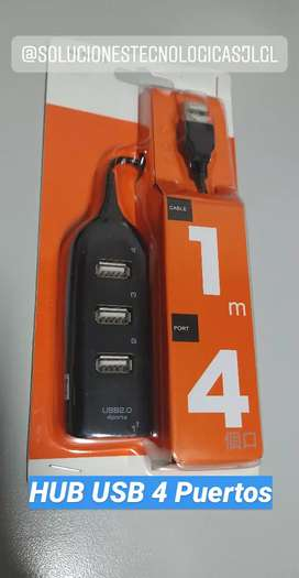 Hub USB 4 puertos