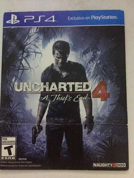Juego play 4 UNCHARTED 4