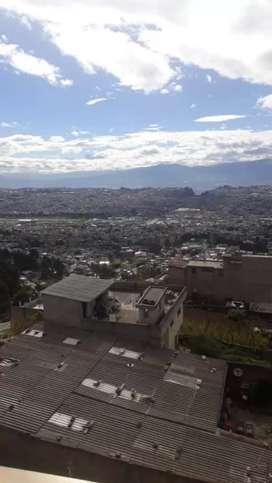 Rento 1 mini departamento completo excelente vista de Quito