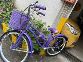 Bicicleta dama poco uso