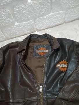Chaqueta de Cuero original, Harley Davidson