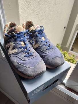 Vendo zapatillas new balance talle 43