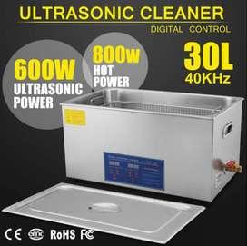 Limpiador Ultrasonico Acero Inoxidable 30 Litros