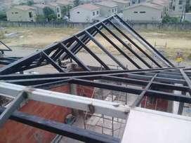 Estructuras Metalicas cubiertas & Canalones