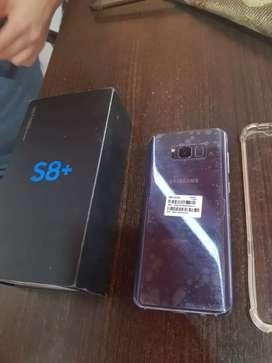 S8 plus con todos los accesorios