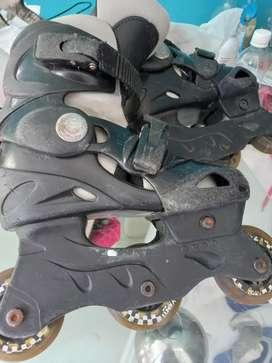 Vendo patines en linea usados en buen estado