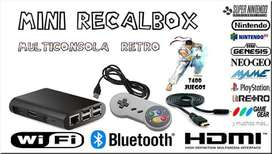 Consola RETRO BOX DE 27000 JUEGOS RETROS HDMI gameboy Psp NeoGAME Playstation 1 ** DECOSLEO