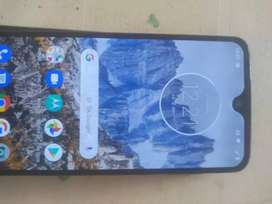 Motorola g 7 plus todos funcionando detalle una grieta en la pantalla
