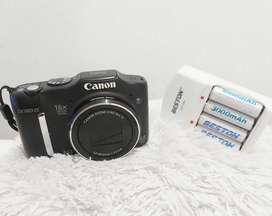 Cámara Canon  PowerShot  sx160 is