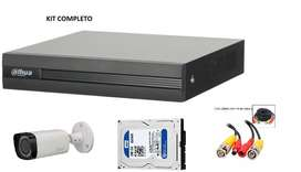 Kit Seguridad Completo Dvr Disco Camaras etc