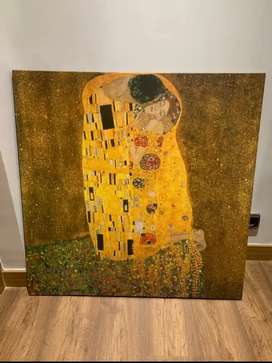 Cuadro el beso de Klimt