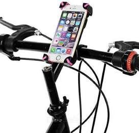 Soporte Silicona 360° Para Celular Para Motos O Bicicletas