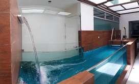 ¿Te imaginas viviendo en un lindo departamento con tu propia piscina y lejos del bullicio de la ciudad?