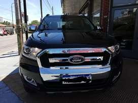 Ford ranger límited año 2017, 30000km