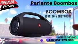 Parlante Bluetooth BOOMBOX inalambrico