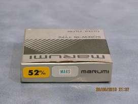 Filtro Marumi Mars 52 mm. Nuevo. Estuche Original.