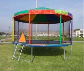 se vende juegos ,tranpolin circular con techo