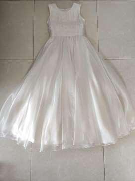 Hermoso Vestido de primera comunion talla 12