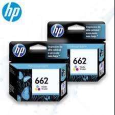 KIT DE TINTA HP 662 NEGRO Y TRICOLOR 1015, 1515, 2515