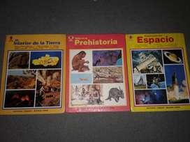 3 libros visuales sigmar enciclopedia temas varios