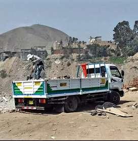 Servicios eliminación de desmonte y recojo de maleza