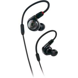Audífonos Audio-technica ATH-E40 In-ear monitoreo Negro