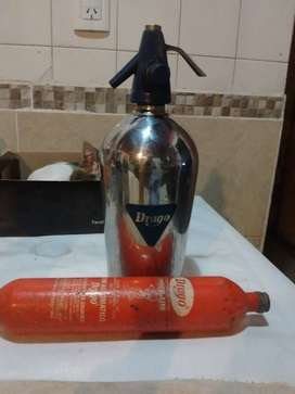 sifon drago con valbula y garrafa 4000