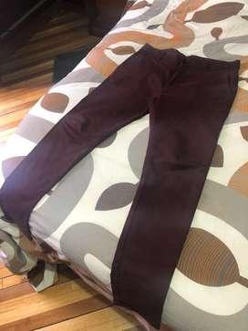 Pantalón Hombre Marca Zara Skinny 31X31