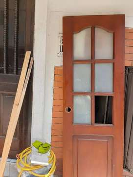 Puertas de madera d segunda