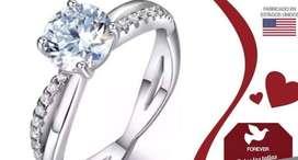Venta de anillo de compromiso -plata