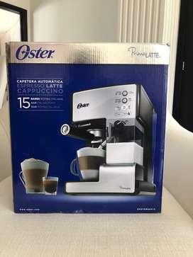 cafetera automática oster 15 bares-capuccino-latte-espresso