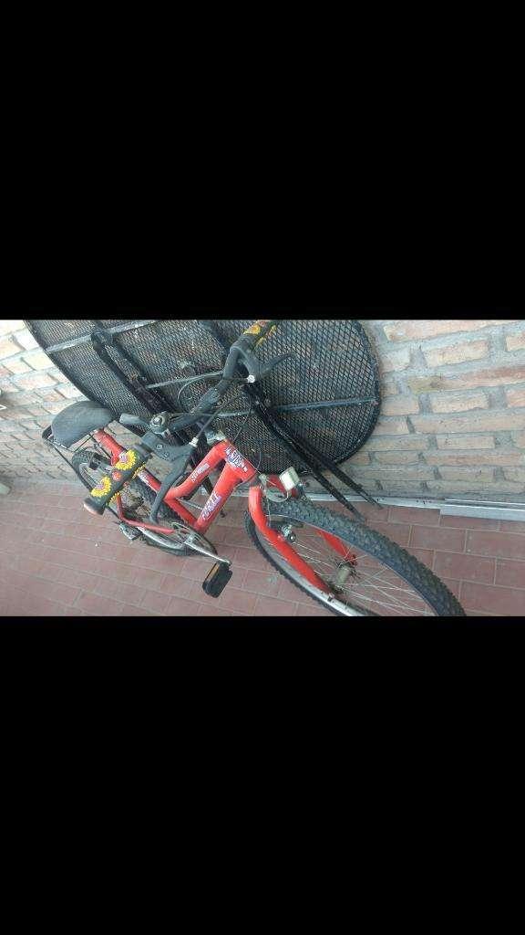 Bicicleta Roja 0