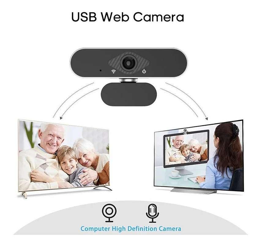 Cámara Web Full Hd Webcam Pc Usb Portátil 0