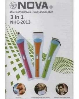 Maquina De Afeitar Nova Nhc  2011 Multifuncional 3 En 1
