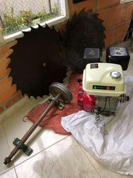 Motor para acerrar madera.