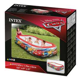 Piscina Inflable de Cars