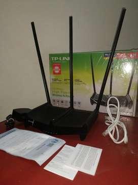 Se Vende Tp Link 3 Antenas Rompemuros