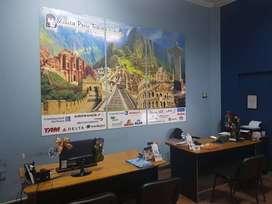 AGENCIA DE VIAJES Y TURISMO REQUIERE SRTA.DIVERSAS FUNCIONES.