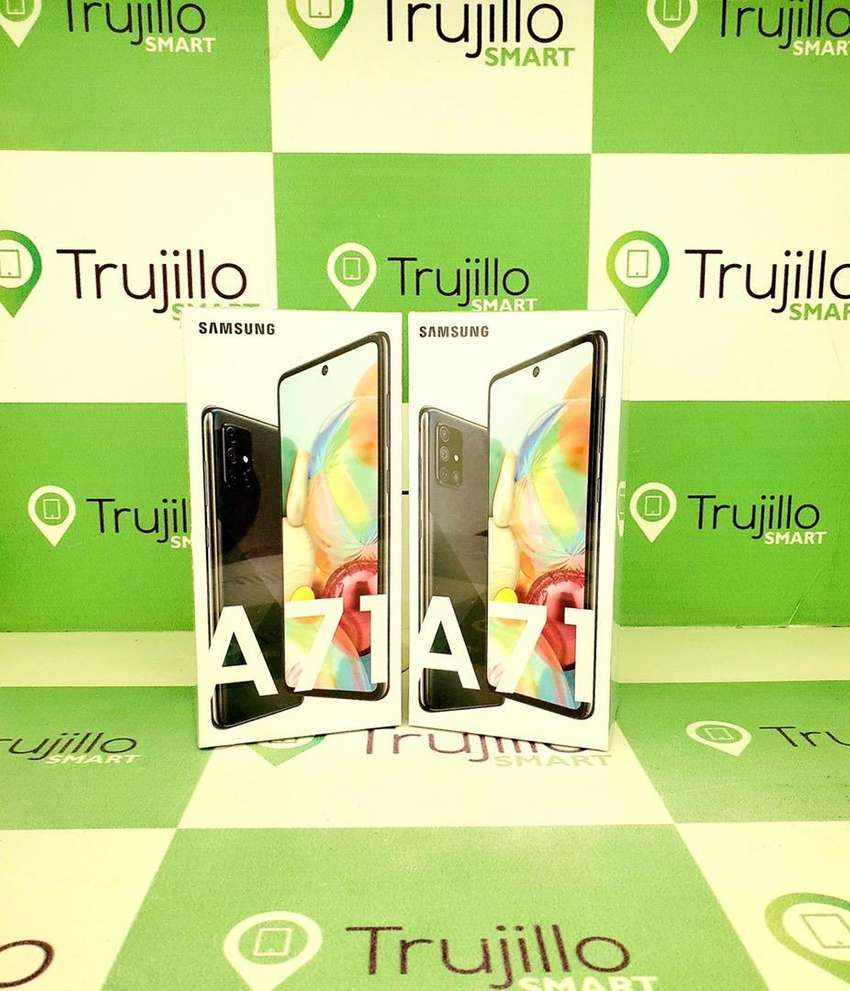 Samsung Galaxy A71 caja sellada 128 gb tienda Fisica 0