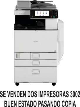 IMPRESORAS RICOH 3002