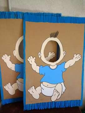 Cartón Baby Shower varón